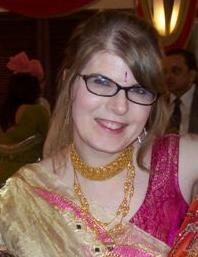 Karin at Wedding, Mumbai India